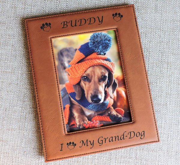 Grand Dog Photo Frame Grandpuppy Granddog Grandpup Custom