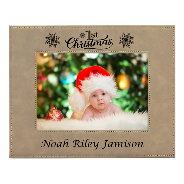 Baby Frame Babies First Christmas Photo Picture Frame My First